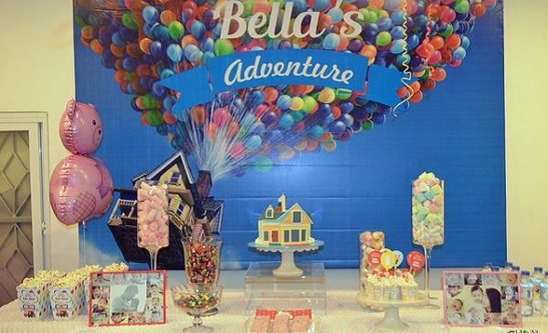 Ý tưởng tổ chức sự kiện sinh nhật theo phong cách phiêu lưu bằng bóng bay