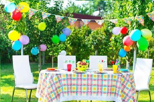 Ý tưởng tổ chức sinh nhật ngoài trời