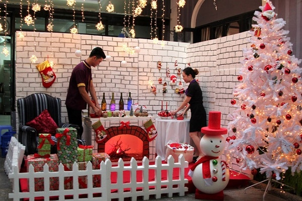 Ý tưởng tổ chức Giáng sinh theo phong cách lâu đài