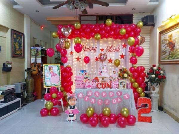 Quy trình tổ chức sự kiện sinh nhật cho bé